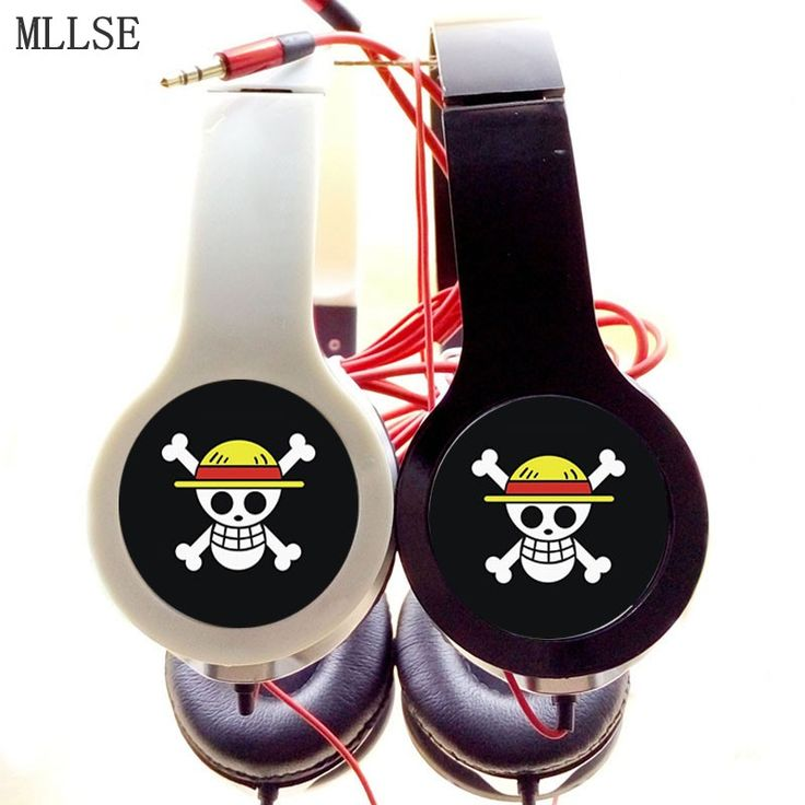 One Piece Headband Foldable Stereo Headphones Game Phone Headset //Price: $24.00 & FREE Shipping //     #onepieceluffy #onepiecefigure #dluffystore