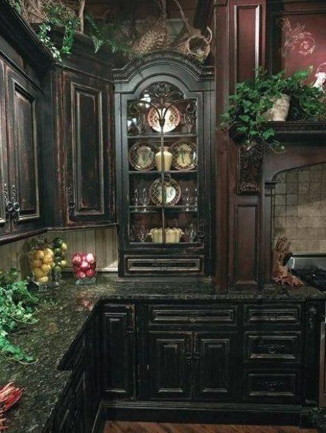 20 Raffinierte Gothic K che Und Esszimmer Designs Esszimmer livingroomideas kitchenideas  ...