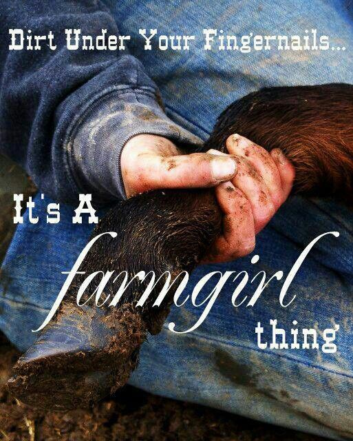 and manure, and all sorts of other things..... :)