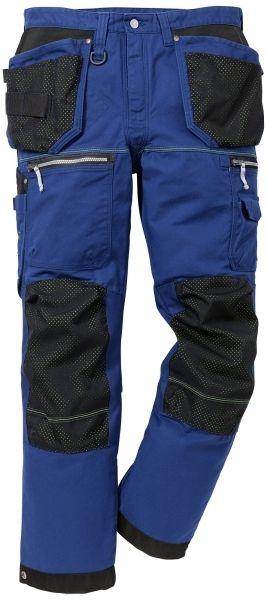 Fede håndværkerbukser!  Fristads Kansas R&T håndværkerbukser FAS, 100% bomuld, blå (109201-541) - ArbejdsBUKSER - BILLIG-ARBEJDSTØJ.DK