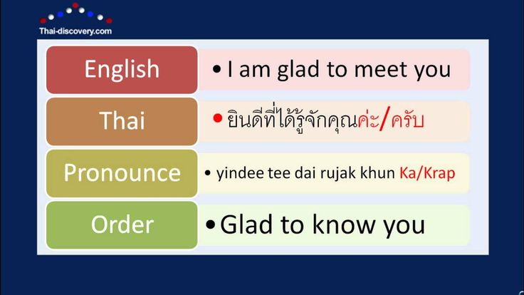 44 best th thai images on pinterest languages learn thai and learn thai lesson 1 greetings youtube m4hsunfo