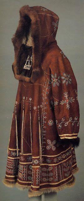 Koryak woman's dress coat, Komchatka
