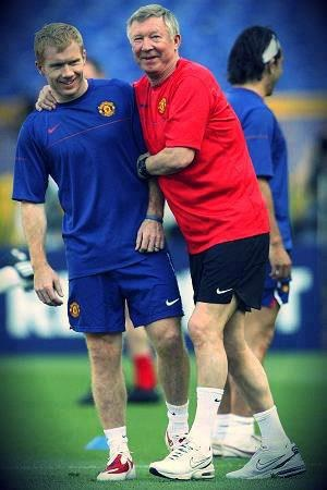 two manchester united legends leaving the club this season, paul scholes & sir alex ferguson... legends. #MUFC