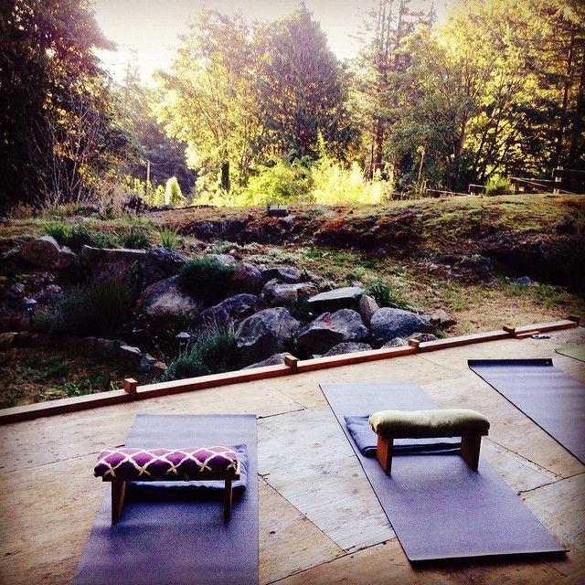 Nectar Yoga B&B Bowen Island in Bowen Island, BC for a Yoga Retreat