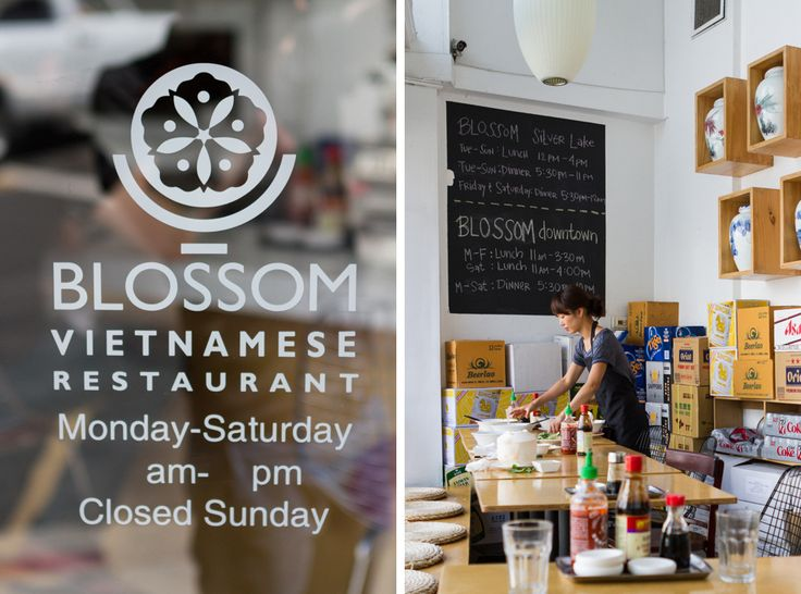 LA Blossom Vietnamese Restaurant In Downtown So Good We Ate There Twice