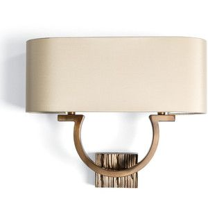 Villiers Omega Wall Light in Bronze
