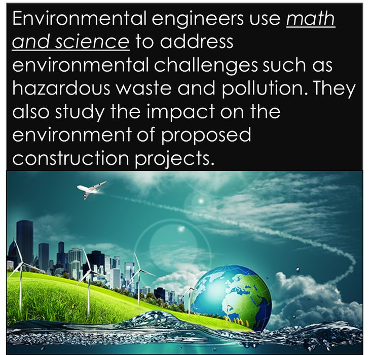 what environmental engineers do Choose a collegiate engineering program enroll in an environmental, civil, mechanical, chemical, or general engineering degree program a bachelor's degree in engineering is the minimum requirement for environmental engineers.