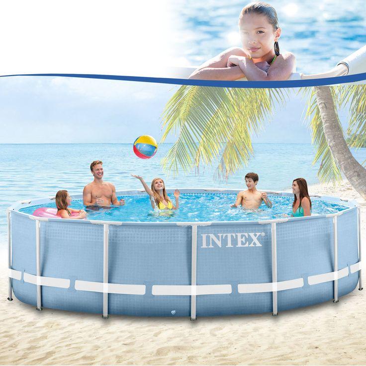 Intex 28905 Swimming Pool Frame 457x122 cm - ohne Zubehör kaufen