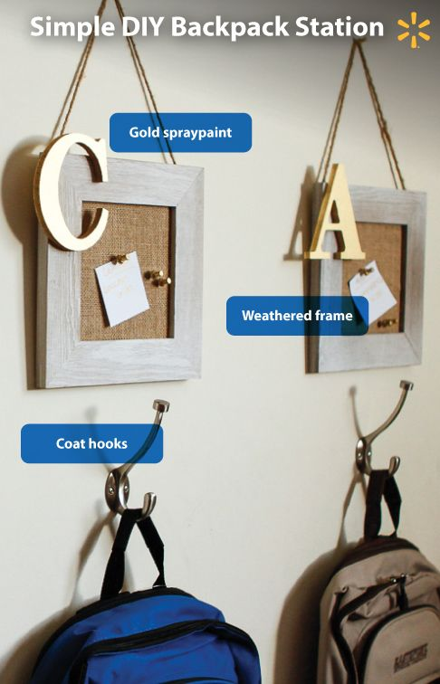 18 best images about Organization on Pinterest | Backpack station ...