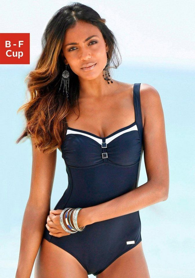 wholesale dealer 0e166 71872 LASCANA Badeanzug, mit wattierten Cups kaufen | beautiful in ...