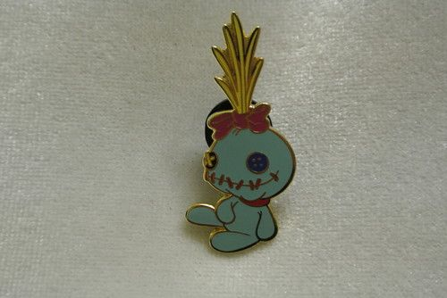 Disney Lilo Stitch Pin Trading Scrump Stitch Doll Animal Pet Friend Green Pin   eBay