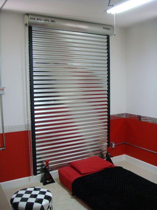 garage bedroom ideas | Garage Themed Bedroom, New updates to my 8 year old son Jett's garage ...