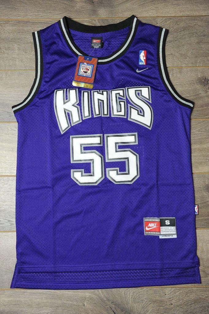 730fb2f5913 Men 55 Jason Williams Jersey Blue Sacramento Kings Throwback Swingman