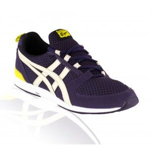 Onitsuka Tiger - Ultimate Racer Casual Shoe - Blackberry Cordial/Off White