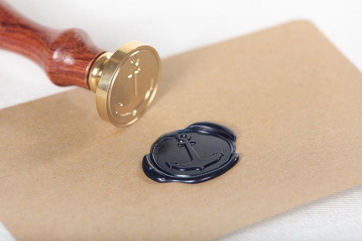 "Siegelstempel - Siegelstempel ""Anker"" - ein Designerstück von DOU-Wo-gibts-denn-sowas bei DaWanda"