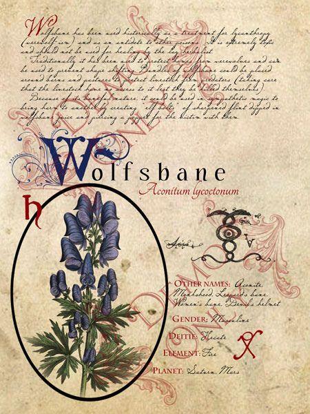BOS ~ Wolfsbane page