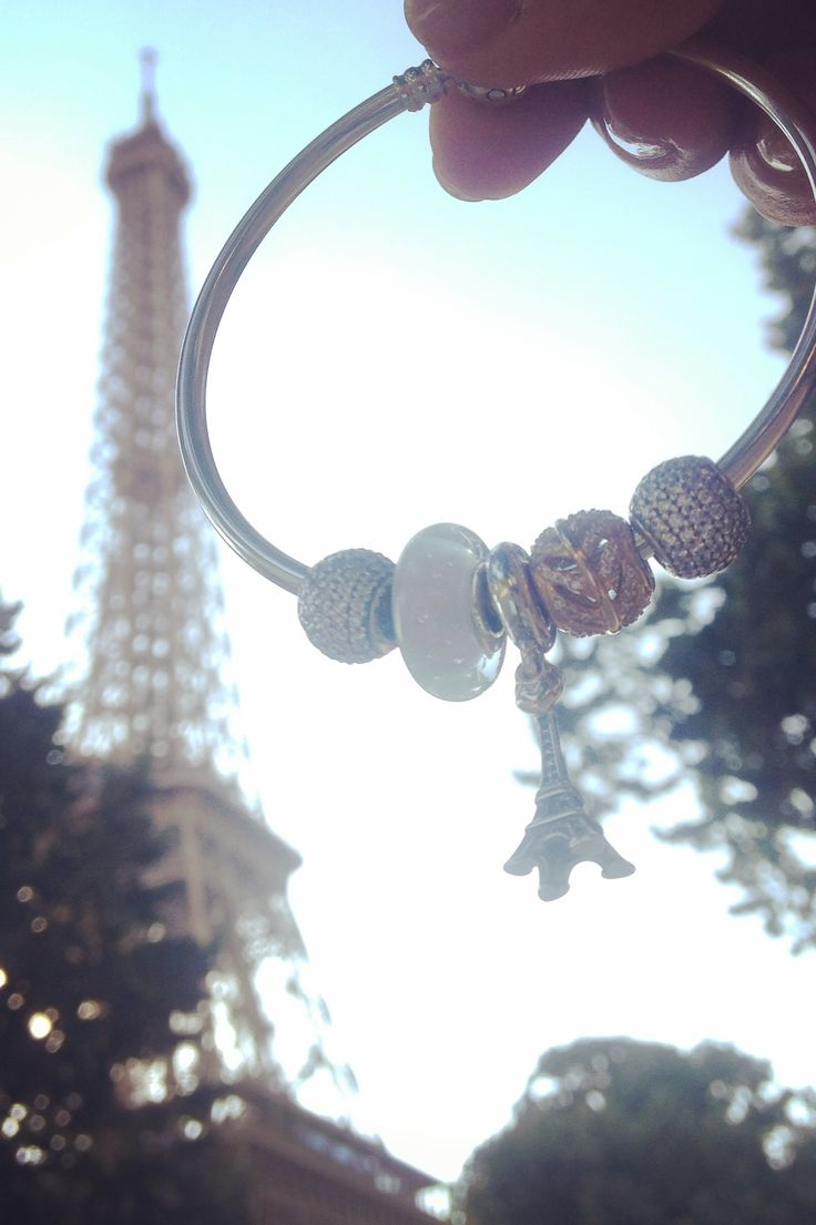 Add PANDORA's Eiffel Tower charm to your bracelet as a memento of stylish Paris. Share your favorite travel moments on Instagram for the chance to win a travel inspired bracelet. Stay tuned for more information. :) #PANDORAtravelcontest