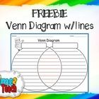 Have you ever wanted a large Venn Diagram with lines on it for your students to write on?   I SURE HAVE!!!!!!  Enjoy the FREEBIE!!!!!!