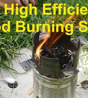 How To Make A Super Efficient Gasifier Wood Stove For Survival, Backpacking, And Camping