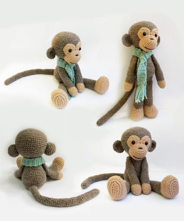 "16 Likes, 1 Comments - Anatillea (@anatillea) on Instagram: ""#Amigurumimonkey https://www.etsy.com/shop/Anatillea  #amigurumi #patterns #amigurumipatterns…"""