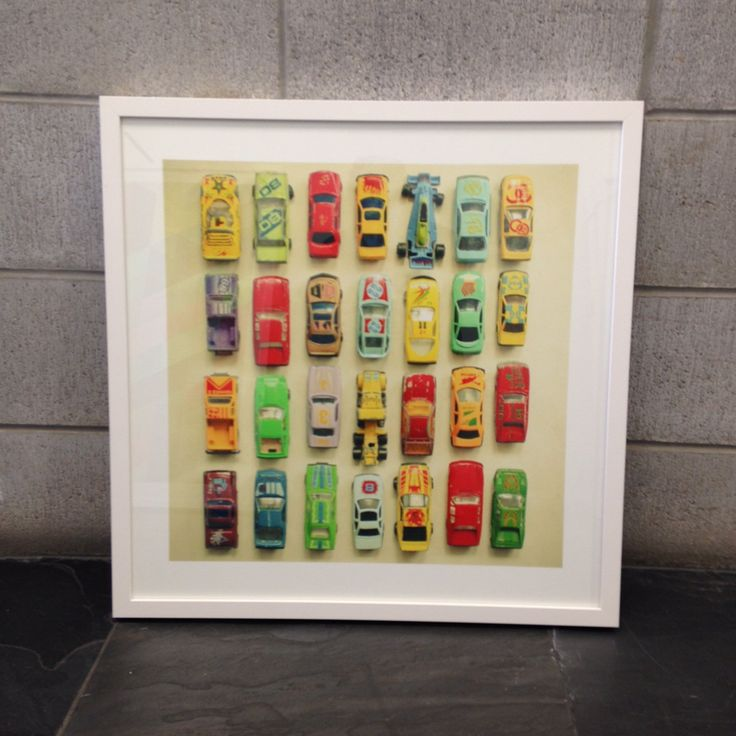 Art print, framed in a white box frame, all ready to hang.  Approximately 59cm wide by 59cm high framed. $325
