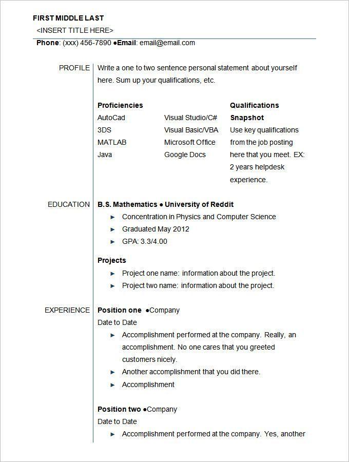 Download University Student Resume Sample Student Resume Template Student Resume High School Resume Template