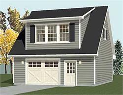 Loft Garage Plans by Behm Design - Garage Plans with Storage and Loft