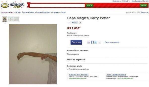 Fazemos piada no Mercado Livre. | 21 provas de que o brasileiro é capaz de fazer piada com qualquer coisa