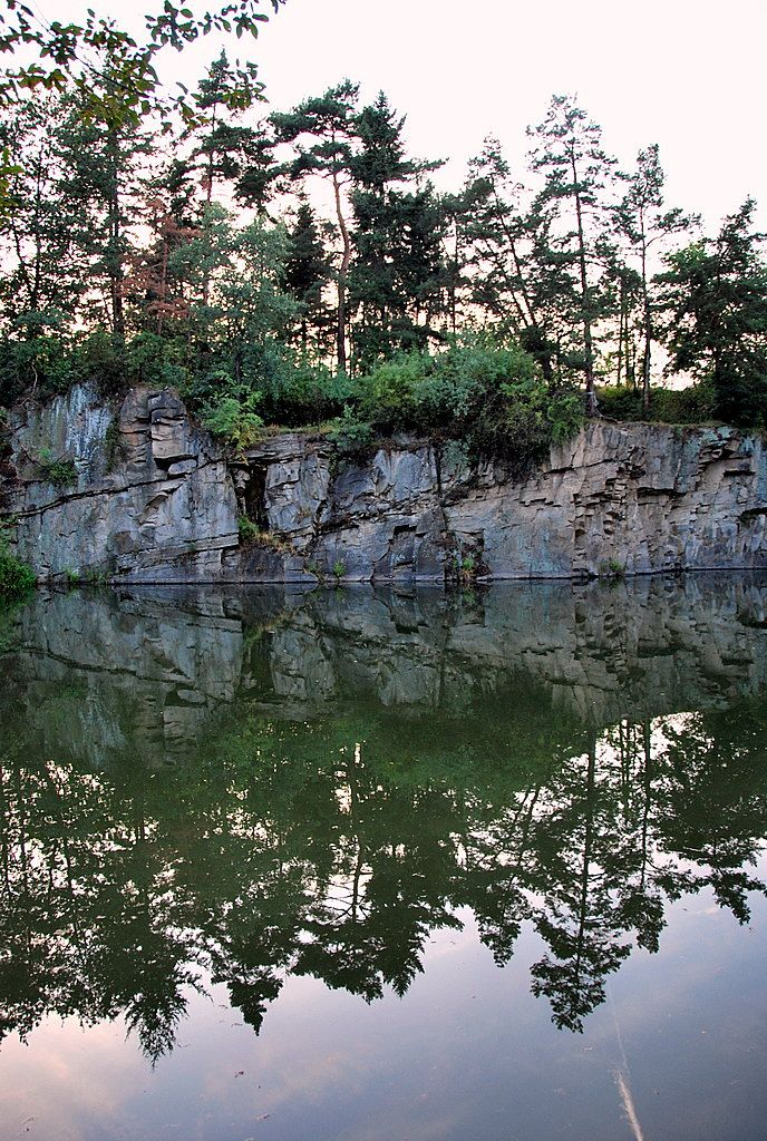 Flooded quarry I by black-ladybird