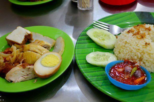 Hainan Rice Mix, Selat Panjang, Medan, North Sumatra