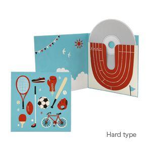 Boîte CD/DVD (Sport) - Boîtes cadeaux - Articles cadeaux - Cadeaux et cartesCanon CREATIVE PARK