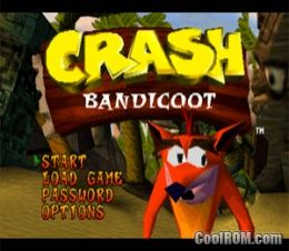 Classic PSX Game: Crash Bandicoot ROM (ISO) Download for Sony Playstation / PSX - CoolROM.com