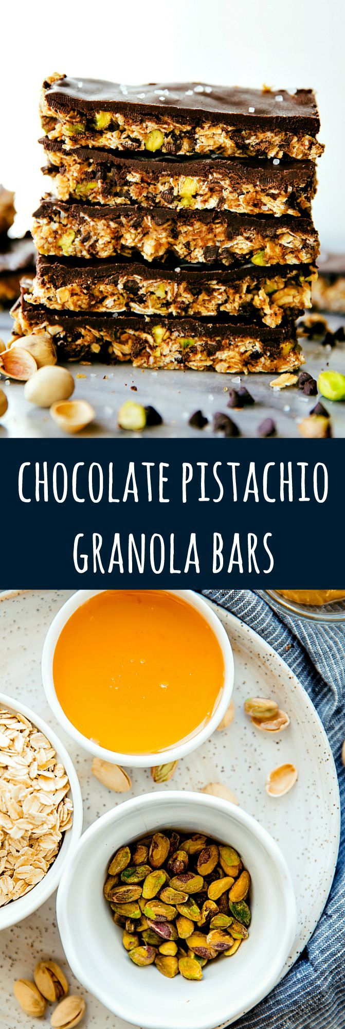 A healthier Chewy Dipps copycat granola bar that is naturally sweetened, no baking required, and absolutely delicious!