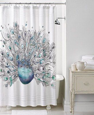 59 Best Images About Peacock Shower Curtains Birds On