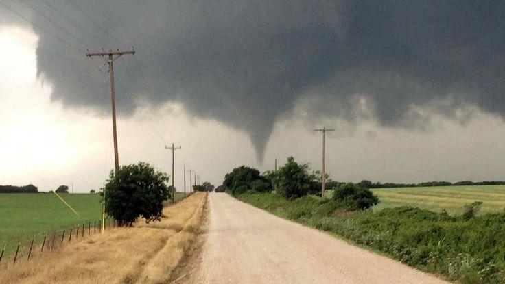 Se registraron numerosos tornados en varios Estados de EEUU