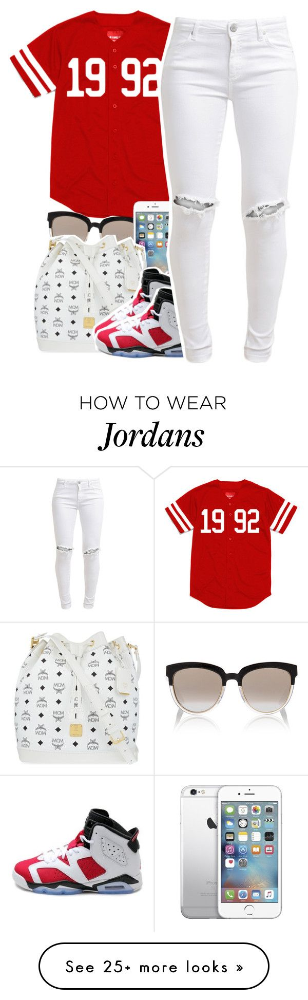 """""""Untitled #398"""" by uniquee-beauty on Polyvore featuring Christian Dior, MCM, NIKE and FiveUnits"""