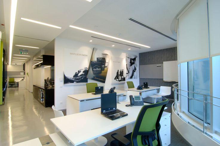 PHILIP MORRIS TRAVEL & SALES OFFICE - mimari stdio