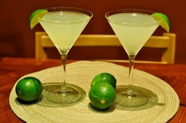 """The Kamikaze is a cocktail made from equal parts of vodka, triple sec and lime juice. There are several variations of how the drink can be served, according to the International Bartenders Association, the Kamikaze should be served in a cocktail glass and garnished with a wedge of lime, however, it can also be served as a shooter or shot in many bars. The name comes from the Japanese word 神風 (pronounced ka-mi-ka-zi) which is defined as """"divine wind""""."""