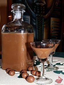 Zobacz zdjęcie Likier Czekoladnica   Składniki: • 2 puszki mleka słodzonego • 2 gorzkie czek...