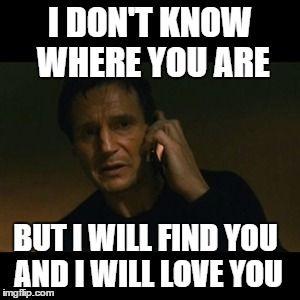 Liam Neeson Taken Meme