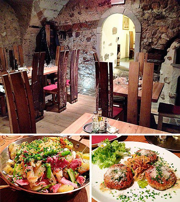 "Bauerngröstl and Pressknödel - Dining at the organic ""Roter Hahn"" Farm Bar Steffelehof - South Tyrol (Italian Alps)"