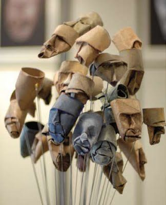 Cardboard Craft from Empty Paper Rolls ~ AllThingAbout  artist: Junion Jacquet...