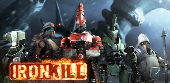Ironkill robot fighting game