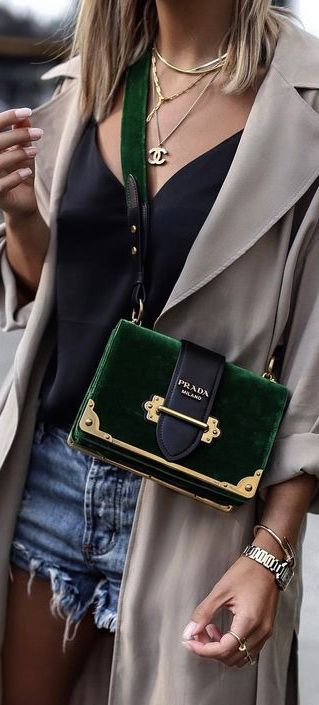 Chanel and Prada • Street CHIC • ❤️ Curated by Babz™ ✿ιиѕριяαтισи❀ #abbigliamento