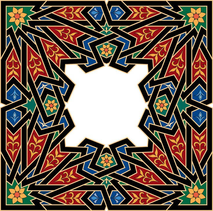 motif de viande Islamique ottoman (43)
