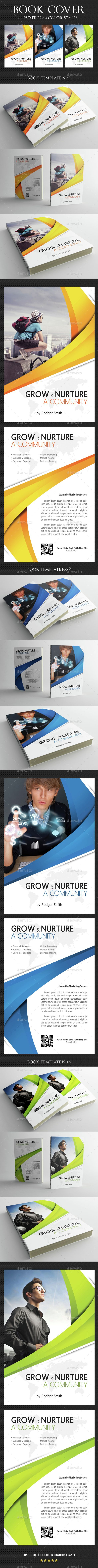 Book Cover Template 07 — Photoshop PSD #story #modern • Available here → https://graphicriver.net/item/book-cover-template-07/15164063?ref=pxcr