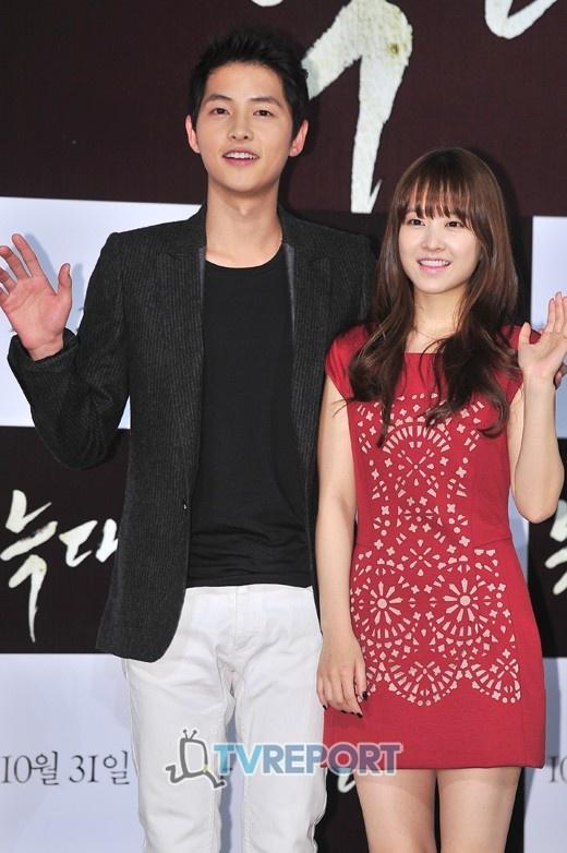 Park Bo Young is stressed about Song Joong Ki's nice skin « KoreaDotCom #songjoongki #kstars