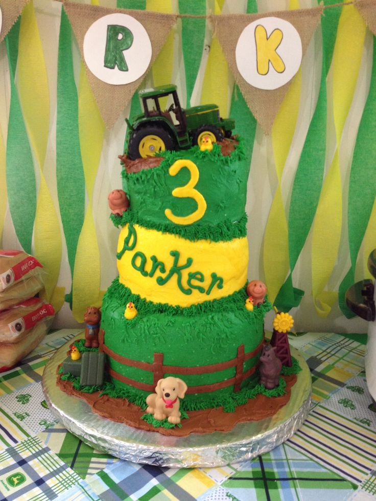 8 best Parkers John Deere Birthday Party images on Pinterest
