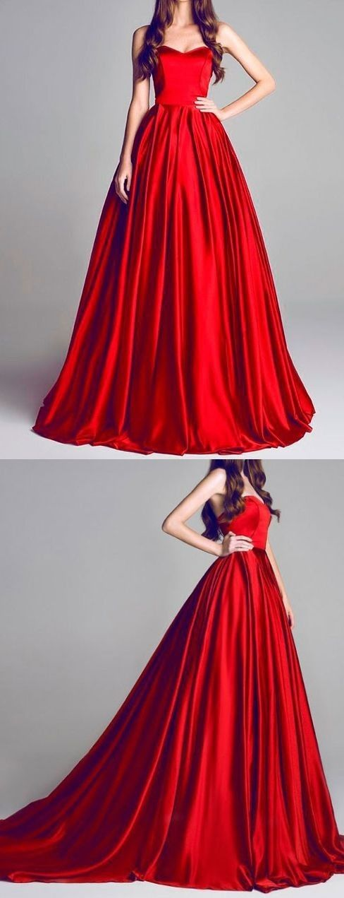 Red dresses gowns prom partydress pinterest for Piscina 4 x 3