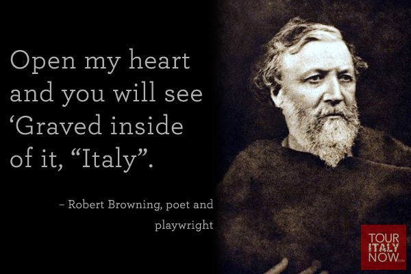 Italy quotes Robert Browning